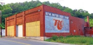 THE KYVA Motor Company building is located at the corner of Main Street and Madison Street in downtown Whitesburg.
