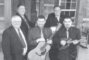 TO PERFORM -  The Tommy Webb Band from Langley is among bluegrass bands scheduled to perform at the Pickin' on the Mountain show at Jenkins June 16.
