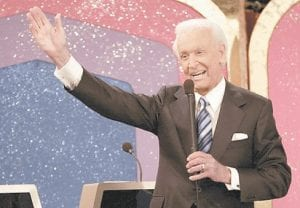 FINAL SHOW TO AIR FRIDAY -  Bob Barker waves to the studio audience at the taping of his final appearance on
