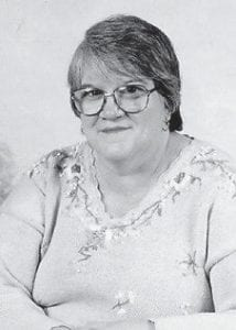 FORMER MARLOWE RESIDENT -  Bernadette Brown Wilson is the youngest daughter of the late Edna and Sylvan Brown, formerly of Marlowe.