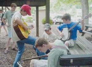 BREAKDOWN -  Advanced youth musicians pick a little