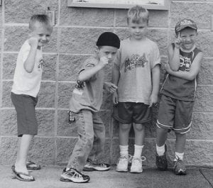 A LITTLE ATTITUDE -  These four