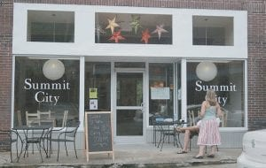 Summit City, a new coffee shop and concert venue in Whitesburg, was open temporarilty over the weekend to host its first two concerts -  an appearance by folk artist Si Kahn and an acoustic performance by Los Angeles-based rockers Gravy. Summit City proprieter Joel Beverly says he opened the business in part to give Letcher County residents a place to