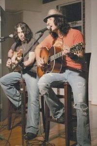 Gravy's Mark Tremalgia (left) and Mark Knight.