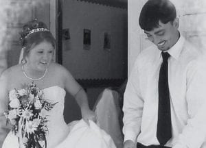 MARRIED -  April Marie and Joshua V. Bailey were married July 7 at Colson Baptist Church. She is the daughter of the late Clyde Hensley of Neon and Kathy Honeycutt of Colson. He is the son of Vernon Bailey of Isom and the late Linda Rose Breeding.