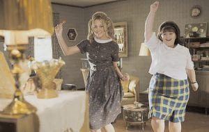 Amanda Bynes, left, and Nikki Blonsky play Baltimore teens in the movie musical