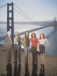This photo provided by ABC shows the cast of the network's new drama series,