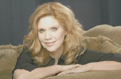 Alison Krauss is seen in this April 2007 photo. The bluegrass star's album with Led Zeppelin frontman Robert Plant,