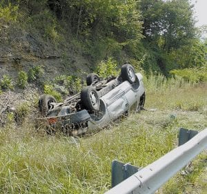 Devade Williams, 52, of Hindman was injured when the Chevrolet Blazer she was driving rolled over four times Monday on the Whitesburg bypass. Williams was airlifted to Kingsport, Tenn., where she was listed in fair condition.