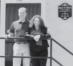 LAWYER TEAM -  Jamie Hatton and Angie (Hatton) Mullins are brother and sister and both are lawyers. Their parents are Sandra and Billy Hatton. They are the grandchildren of Maggie Cook of Colson, and Oma and Clyde Hatton of Whitesburg, who say they are really proud of them.