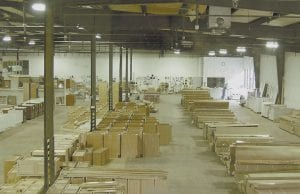 NEW BUSINESS AT NEON -  Pictured here is the warehouse floor of Surplus & More.