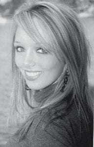 PHOTOGENIC -  Kayla Webb, 17, a senior at Letcher County Central High School, won