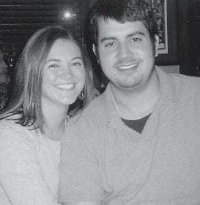 TO BE WED -  Mr. and Mrs. Charles Day and Mr. and Mrs. Edwin Newell announce the forthcoming marriage of their children, April Martin and Zachary Newell, at 5:30 p.m., October 13. The wedding will take place at the First Baptist Church in Whitesburg. The custom of an open wedding will be observed.