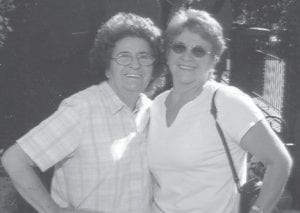 TRAVELERS -  Louise Shepherd and Nanetta Dingus are pictured having fun at Dollywood.