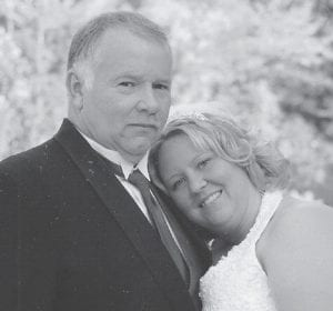 MARRIED -  Tiffany Anderson and Steve Collins were married October 6. The wedding ceremony was held at 4-Star Lake at Redfox.
