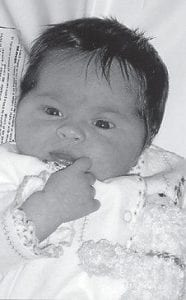 HATTON BABY -  Anna McKinley Hatton is the daughter of Jamie and Julie Hatton. Her grandparents are Bill and Sandra Hatton, and Dickie and Dianne Adams. She is the great-granddaughter of Oma and Clyde Hatton, Maggie Cook and the late Earnest Cook, Hargis Ison and the late Anna Lou Ison, and Bill and Joyce Adams. Her greatgreat grandmother is Eva Sexton.