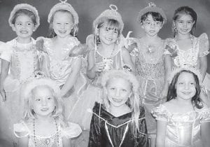 TEA PARTY -  The West Whitesburg Elementary Daisy Troop earned the first badge of the new school year by having a tea party. Pictured are (top row, left to right) Josie Bates, Nora Hall, Kaylee Whitaker, Ashley Vanover, Emily Caudill, (bottom row) Pammy Collins, Lindsey King, and Mackenzie Stidham.