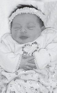 SEPTEMBER BABY -  Aaralyn Amara Cornett was born Sept. 19. She is the daughter of Erica Cornett of Little Dry Fork. Her grandparents are Sheila and Anthony Cornett, her great-grandparents are Trubie and Dora Cornett, and her great-greatgrandmother is Flora Amburgey, all of Little Dry Fork. She is the niece of Dunavon Cornett.