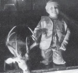 FIRST DEER -  Five-year-old Jepatha James Griffith shot a 10-point buck on a statewide youth hunt in October. He was accompanied by his father and two-year-old brother, Christian. He is the son of J.D. and Misty Griffith of Jackhorn.