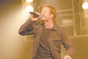A large crowd, including many from Letcher County, gathered at the East Kentucky Expo Center in Pikeville on November 24 to watch country music star Dierks Bentley (pictured above) perform his former No. 1 single
