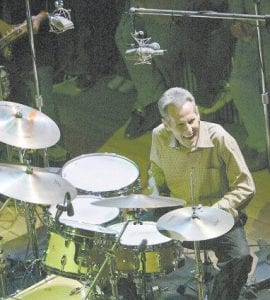 Levon Helm performs at one of his monthly