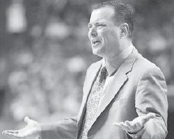 UK Coach Billy Gillispie in Rupp Arena recently. (AP)