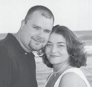 MARRIED -  Becky Lynn Baldwin and Brandon Hall were married on Sept. 16 in Myrtle Beach, S.C. She is the daughter of Terry and Jeanie Gregg of Cynthiana, and Charles Baldwin of Burlington, N.C. He is the son of Paul and Linda Hall of McRoberts. The couple live in Georgetown.