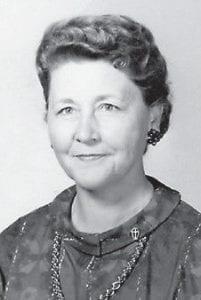 TEACHER -  Helen (Bates) Bentley was a teacher a few years back at Marlowe School.