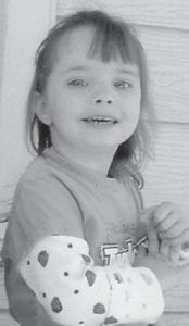 THREE YEARS OLD -  Autumn Jessalynn Faith Stallard celebrated her third birthday Feb. 8 with a Backyardigans party at Dairy Queen. She is the daughter of James and Patricia Bailey Stallard of Ermine. Her grandparents are Melinda Baker and Eddie and Teresa Stallard. Her great-grandparents are Alberta Vanover, Zella Stallard and the late Ed Stallard, and Herb Stamper. She has a sister, Abagail, and a brother, Jaycob.