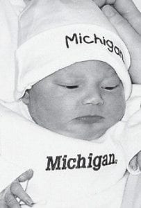 JANUARY BABY -  Joseph Adam Randolph IV was born January 28 to Joseph and Megan Randolph at Oakwood Hospital in Dearborn, Mich. His grandparents are Orville and Beverly Beauchamp of Taylor, Mich.; Joseph and Tracey Randolph of Wayne, Mich.; and Connie Mora of Taylor, Mich. He is the greatgrandson of Sadie Ison Hayes of Taylor, Mich.