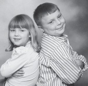 SHARING BIRTHDAY -  Austin and Sierra Mullins will share their birthday on Saturday, March 1. Austin, who will turn 9, will celebrate with a Spiderman 3 party. Sierra will turn 6 and will celebrate with a Hannah Montana party. They are the children of Roy and Kristie Stanley of Jenkins, and the grandchildren of Gary and Lois Rose of Payne Gap.