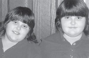 TURNING EIGHT -  Heather and Kayla Boggs will celebrate their eighth birthday on March 16. They are the daughters of Daniel and Debrah Boggs of Vicco. Their grandparents are Cody and Maudie Sumner and the late Bill and Alice Boggs.