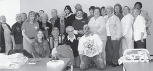 AT BUCKHORN LAKE -  Members of the senior citizens centers at Ermine, Boone Fork and Colson recently visited Buckhorn Lake.