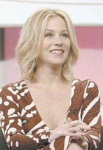 Actress Christina Applegate stars in