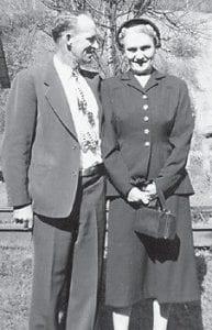 MARLOWE COUPLE -  The late Ike and Hattie Tackett were