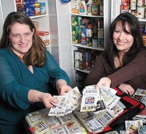 SUZANNE SUMMERVILLE/MCCLATCHY NEWSPAPERS Michelle Harrison (left) and Frances Bullock are known as the