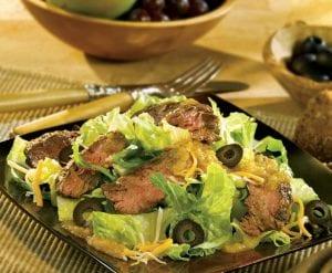Salsa Verde Grilled Steak Salad
