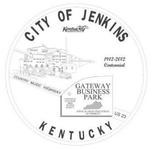 This new logo for the city of Jenkins was unveiled Monday night during the Jenkins City Council's July meeting. The logo was designed by Letcher County native Jill White.