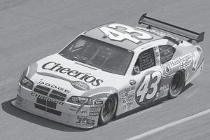 Bobby Labonte will spend four more years as driver of Petty Enterprises Cheerios/Betty Crocker sponsored No. 43 Dodge.