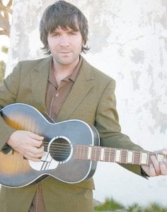 Highly-acclaimed singer-songwrter Tim Easton (above) is scheduled to perform in concert at Summit City next week.