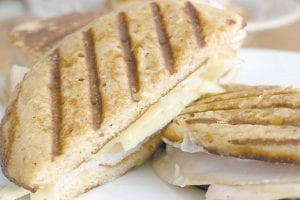 Let breakfast do double-duty and also provide a lunch to send the kids with. Kids who like pancakes will love a Pancake Panini for lunch at school. (AP Photo)