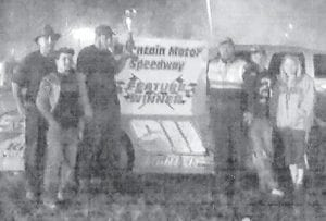 In the open wheel modified feature, driver Jason Hall brought home another win at Mountain Motor Speedway at Isom.