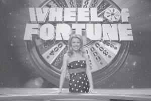 Vanna White, co-host of