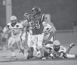 NEXT UP — Letcher County Central will continue its run in play-offs this Friday with a visit to Whitley County for a rematch with quarterback Jamie Lebanion (above) and his troops.