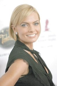 Actress Jaime Pressly was photographed earlier this fall arriving at the 5th annual St. Jude Children's Research Hospital Runway for Life benefit in Beverly Hills, Calif. (AP Photo)