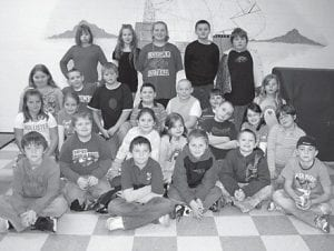 MARS INVADERS — Fourth-grade students at Fleming-Neon Elementary School attended the