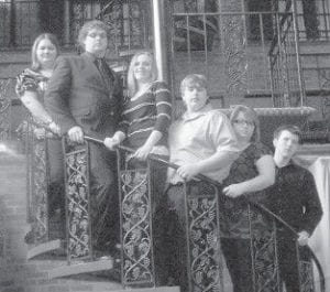 ALL DISTRICT BAND — Six students from Letcher County Central High School are members of High School All District Band. Pictured are (left to right) Kelli Brock, Rob Collier, Samantha Short, Cory Baker, Vanessa Dingus, and Aaron Tolliver.