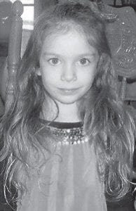 FIVE YEARS OLD — Skylee Oneal Howard celebrated her fifth birthday January 23. She is a daughter of Melissa and Timothy Howard of Jenkins, and has a sister, Hailey Howard, 13, and a brother, Tony Hall, 18. Her grandparents are Lorraine and Daniel Meade of Deane, and Sharon and Vernon Mullins of McRoberts. She is a great-granddaughter of Mary Howard of McRoberts, and attends Jenkins Head Start.