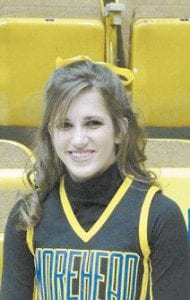 Sarah Jayne Ramsey is a former Letcher County Central High School cheerleader now at MSU.