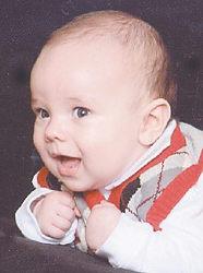 Braxton Kyle Wyatt Age 6 months Parents: Tina and John Wyatt Jr. Grandparents: Cathy and John Wyatt Sr. Ella and Johnny Sandlin Jr.
